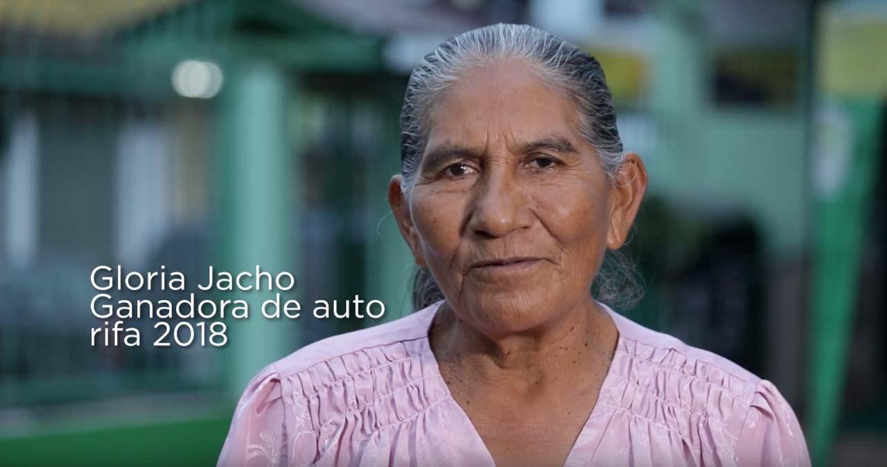 gloria-jacho-ganadora-vehiculo-2018-cooperativa-tena